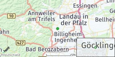 Google Map of Göcklingen