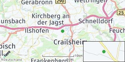Google Map of Wollmershausen