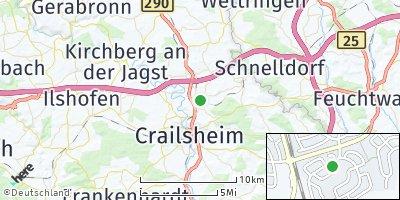 Google Map of Satteldorf