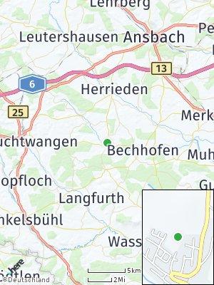 Here Map of Wieseth
