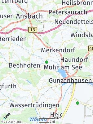 Here Map of Ornbau