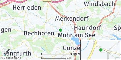 Google Map of Ornbau