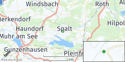 Google Map of Spalt