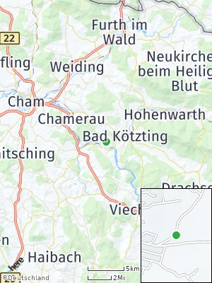 Here Map of Blaibach