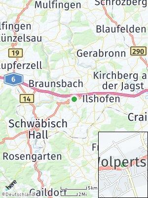 Here Map of Wolpertshausen