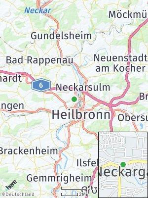 Here Map of Neckargartach