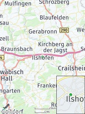 Here Map of Ilshofen