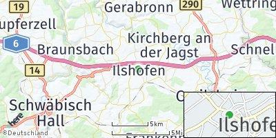 Google Map of Ilshofen
