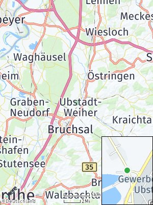 Here Map of Ubstadt-Weiher