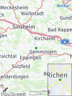 Here Map of Richen