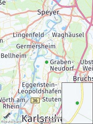 Here Map of Dettenheim