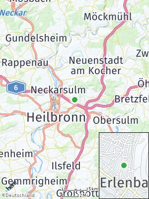 Here Map of Erlenbach