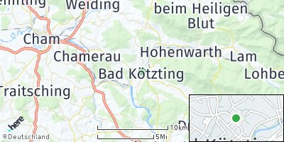 Google Map of Bad Kötzting
