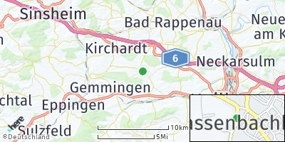 Google Map of Massenbachhausen