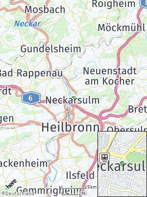 Here Map of Neckarsulm