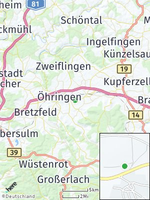 Here Map of Untersöllbach