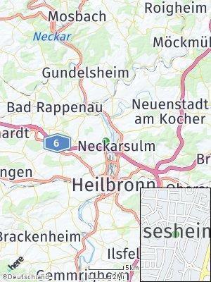 Here Map of Obereisesheim