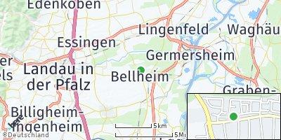 Google Map of Bellheim