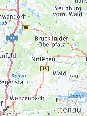 Here Map of Nittenau