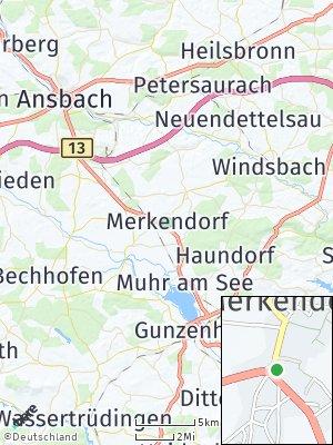 Here Map of Merkendorf