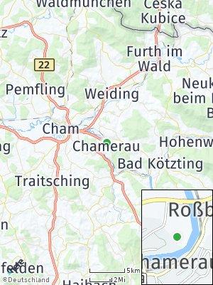 Here Map of Chamerau