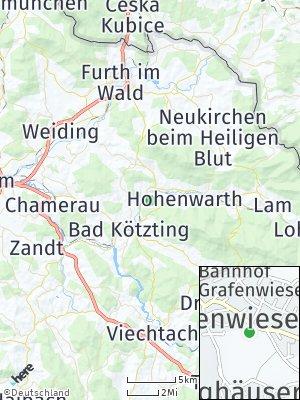 Here Map of Grafenwiesen