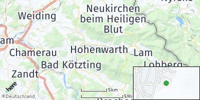 Google Map of Hohenwarth bei Kötzting