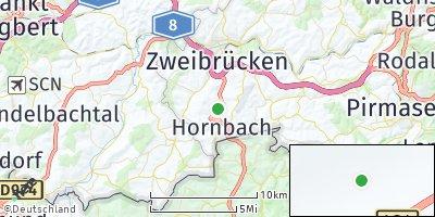 Google Map of Hornbach