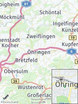 Here Map of Öhringen