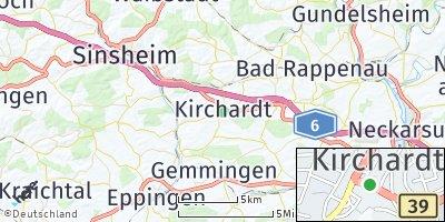 Google Map of Kirchardt