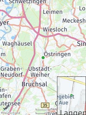 Here Map of Bad Schönborn