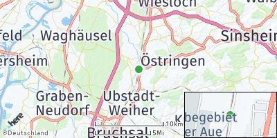 Google Map of Bad Schönborn