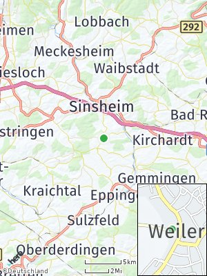 Here Map of Weiler