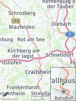 Here Map of Wallhausen