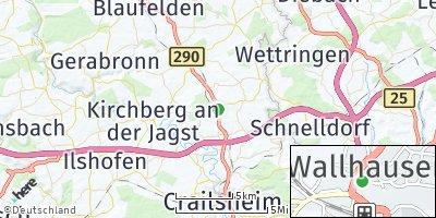 Google Map of Wallhausen