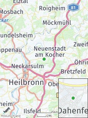 Here Map of Dahenfeld