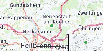 Google Map of Dahenfeld