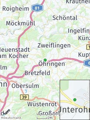 Here Map of Unterohrn