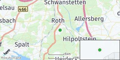 Google Map of Obersteinbach