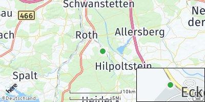 Google Map of Eckersmühlen