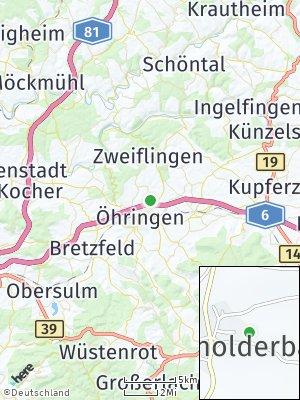 Here Map of Untermaßholderbach