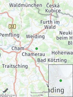 Here Map of Runding bei Cham
