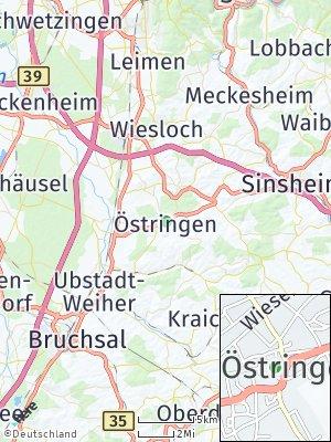 Here Map of Östringen