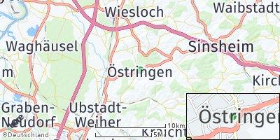 Google Map of Östringen