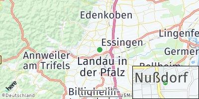 Google Map of Nußdorf