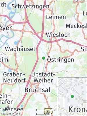 Here Map of Kronau
