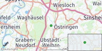 Google Map of Kronau