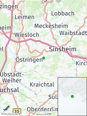 Here Map of Angelbachtal