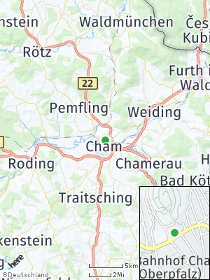 Here Map of Cham