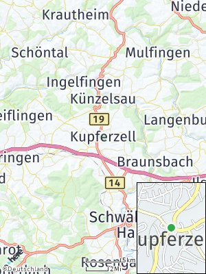 Here Map of Kupferzell